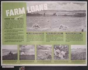 Primary view of object titled 'Newsmap : Farm loans'.