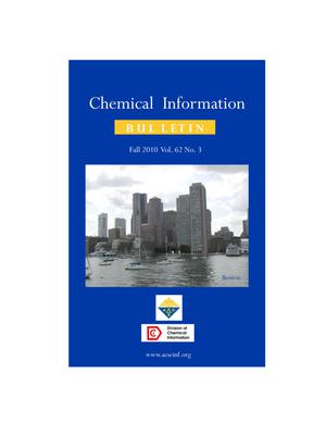 Primary view of object titled 'Chemical Information Bulletin, Volume 62, Number 3, Fall 2010'.