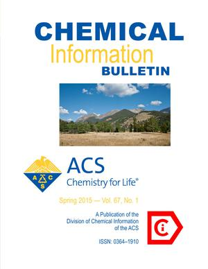 Primary view of object titled 'Chemical Information Bulletin, Volume 67, Number 1, Spring 2015'.