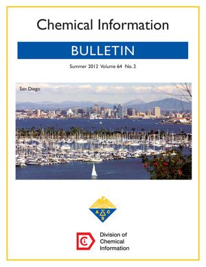 Primary view of object titled 'Chemical Information Bulletin, Volume 64, Number 2, Summer 2012'.