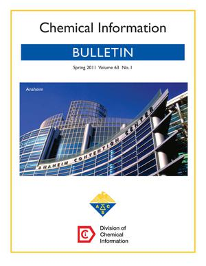 Primary view of object titled 'Chemical Information Bulletin, Volume 63, Number 1, Spring 2011'.