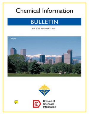 Primary view of object titled 'Chemical Information Bulletin, Volume 63, Number 3, Fall 2011'.