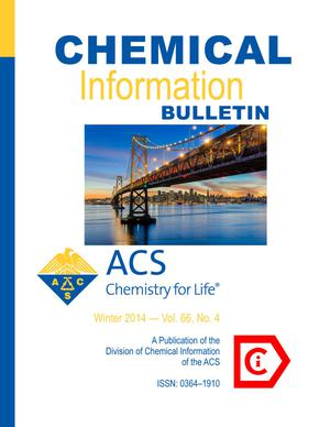 Primary view of object titled 'Chemical Information Bulletin, Volume 66, Number 4, Winter 2014'.