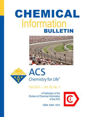 Primary view of object titled 'Chemical Information Bulletin, Volume 65, Number 3, Fall 2013'.