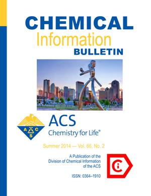 Primary view of object titled 'Chemical Information Bulletin, Volume 66, Number 2, Summer 2014'.