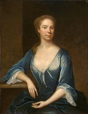Primary view of object titled 'Portrait of a Lady'.
