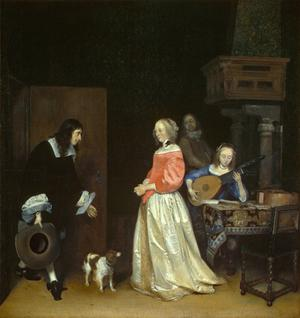 Primary view of The Suitor's Visit