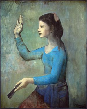 Primary view of Lady with a Fan
