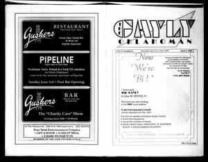 Primary view of object titled 'The Gayly Oklahoman (Oklahoma City, Okla.), Vol. 8, No. 6, Ed. 1 Friday, June 1, 1990'.