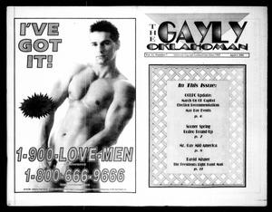 Primary view of object titled 'The Gayly Oklahoman (Oklahoma City, Okla.), Vol. 11, No. 7, Ed. 1 Thursday, April 1, 1993'.