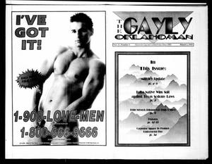 Primary view of object titled 'The Gayly Oklahoman (Oklahoma City, Okla.), Vol. 11, No. 5, Ed. 1 Monday, March 1, 1993'.