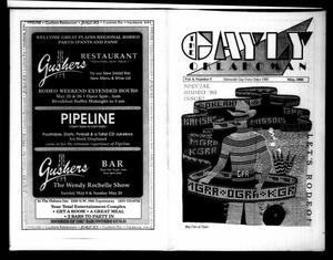 Primary view of object titled 'The Gayly Oklahoman (Oklahoma City, Okla.), Vol. 8, No. 5, Ed. 1 Tuesday, May 1, 1990'.