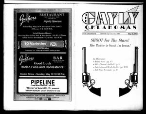 Primary view of object titled 'The Gayly Oklahoman (Oklahoma City, Okla.), Vol. 9, No. 10, Ed. 1 Wednesday, May 15, 1991'.