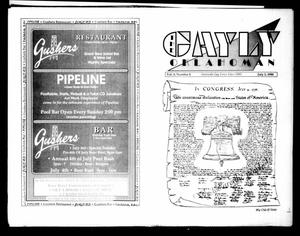 Primary view of object titled 'The Gayly Oklahoman (Oklahoma City, Okla.), Vol. 8, No. 8, Ed. 1 Sunday, July 1, 1990'.