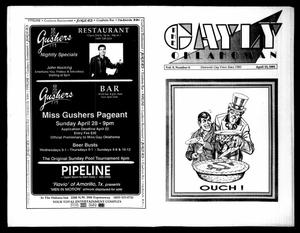 Primary view of object titled 'The Gayly Oklahoman (Oklahoma City, Okla.), Vol. 9, No. 8, Ed. 1 Monday, April 15, 1991'.