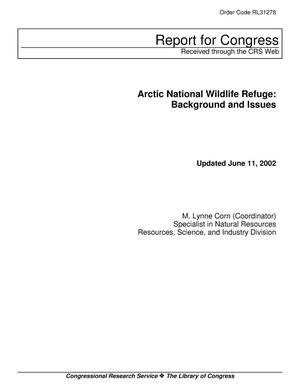 Primary view of object titled 'Arctic National Wildlife Refuge: Background and Issues'.