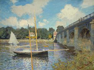 Primary view of object titled 'The Bridge at Argenteuil'.