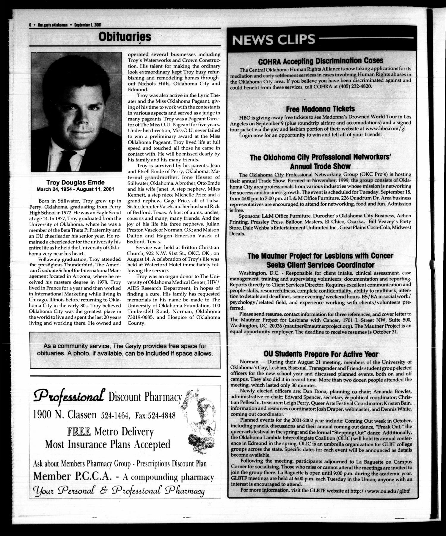 The Gayly Oklahoman Oklahoma City Okla Vol 19 No 17 Ed 1 Clip Files Clipboards 1701 Download Large High Resolution
