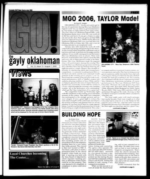 Primary view of object titled 'The Gayly Oklahoman (Oklahoma City, Okla.), Vol. 23, No. 15, Ed. 1 Monday, August 1, 2005'.