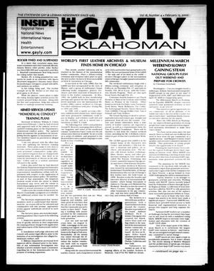 Primary view of object titled 'The Gayly Oklahoman (Oklahoma City, Okla.), Vol. 18, No. 4, Ed. 1 Tuesday, February 15, 2000'.