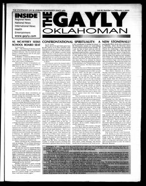 Primary view of object titled 'The Gayly Oklahoman (Oklahoma City, Okla.), Vol. 18, No. 3, Ed. 1 Tuesday, February 1, 2000'.