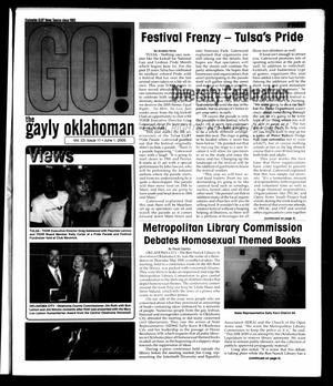Primary view of object titled 'The Gayly Oklahoman (Oklahoma City, Okla.), Vol. 23, No. 11, Ed. 1 Wednesday, June 1, 2005'.