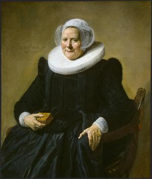 Primary view of Portrait of an Elderly Lady