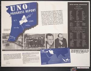 Primary view of Newsmap for the Armed Forces : UNO progress report