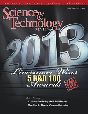 Primary view of object titled 'Science and Technology Review October/November 2013'.