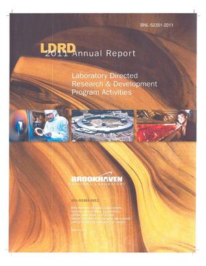 Primary view of object titled 'LDRD 2011 Annual Report: Laboratory Directed Research and Development Program Activities'.