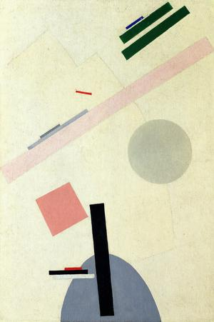 Suprematist Painting (formerly ''Suprematist Composition'')