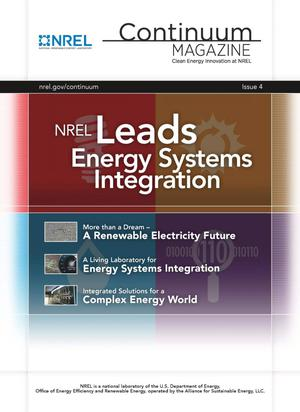 Primary view of object titled 'NREL Leads Energy Systems Integration, Continuum Magazine: Issue 4 (Book)'.