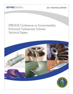 Primary view of object titled 'EPRI-DOE Conference on Environmentally- Enhanced Hydropower Turbines: Technical Papers'.