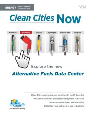 Primary view of object titled 'Clean Cities Now: Vol. 16, No. 2, Fall 2012 (Brochure)'.