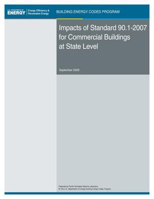 Primary view of object titled 'Impacts of Standard 90.1-2007 for Commercial Buildings at State Level'.