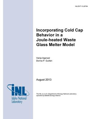 Primary view of object titled 'Incorporating Cold Cap Behavior in a Joule-heated Waste Glass Melter Model'.