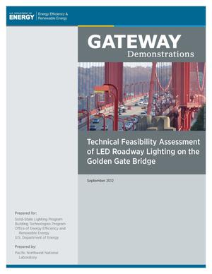 Primary view of object titled 'Technical Feasibility Assessment of LED Roadway Lighting on the Golden Gate Bridge'.