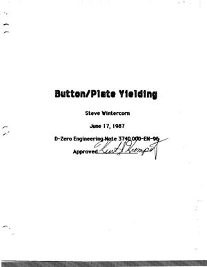Primary view of object titled 'Button/Plate Yielding'.