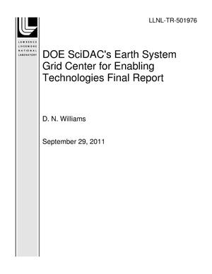 Primary view of object titled 'DOE SciDAC's Earth System Grid Center for Enabling Technologies Final Report'.