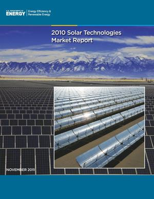 Primary view of object titled '2010 Solar Technologies Market Report'.