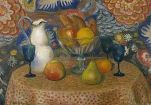 Primary view of object titled 'Still Life with Three Glasses'.