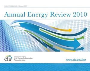 Primary view of object titled 'Annual Energy Review 2010'.