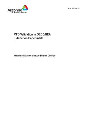 Primary view of object titled 'CFD validation in OECD/NEA t-junction benchmark.'.