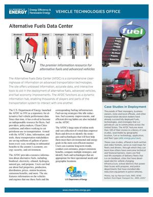 Primary view of object titled 'Alternative Fuels Data Center (Fact Sheet)'.