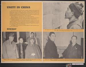 Primary view of object titled 'Newsmap for the Armed Forces : Unity in China'.