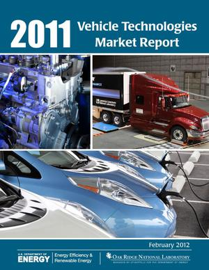 Primary view of object titled '2011 Vehicle Technologies Market Report'.