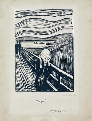 Primary view of object titled 'The Scream'.