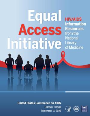 Primary view of object titled 'Equal Access Initiative HIV/AIDS Information Resources from NLM'.