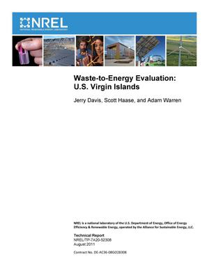 Primary view of object titled 'Waste-to-Energy Evaluation: U.S. Virgin Islands'.