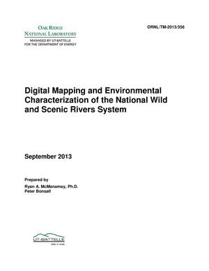 Primary view of object titled 'Digital Mapping and Environmental Characterization of National Wild and Scenic River Systems'.